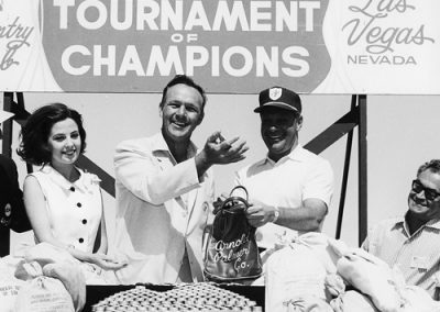 Arnold Palmer wins the 13th Tournament of Champions at the Deser